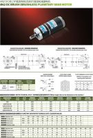 DC planetary gear motor fit for 24V60W and outline dimension 62 dc motor