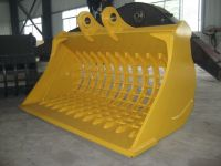 excavator  screening  bucket