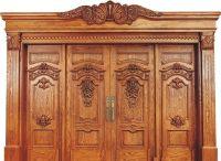 Solid Wood Doors; Timber Doors; Wood Carved Doors