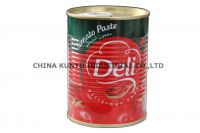 canned tomato paste 22-24%