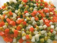 mixed vegetables in tins