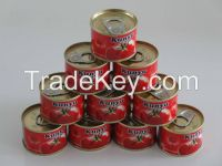 Canned Tomato Paste 2200g