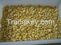 Frozen IQF sweet corn kernels