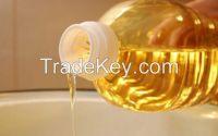 Refined sunflower oil 1 L plastic bottle