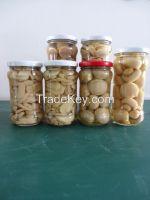 Mushroom in jar
