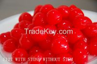 2015 crop sweet canned cherry from China