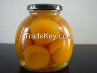 New crop canned apricot halves 580ml