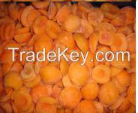 Frozen IQF apricot