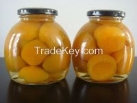 New crop canned apricot halves 720ml
