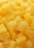 canned pineapple tidbits in syrup with good quality