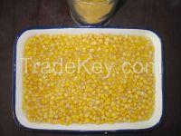 Canned sweet corn kernels