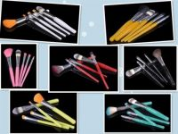 Fashionable Hot Selling Cosmetic Brush with High Grade Resin Handle