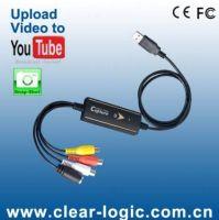 USB Video Capture/Grabber, Built-in Snapshot Button