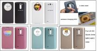 Quick Circle case for lg g3 case with wireless charging nfc
