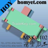 Slide switch/MSK-1102/3PIN smd switch/on-off power switch/china manufactory higtquality