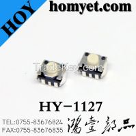 China Suppliers Tact Switch with 4.5*4.5*3.4mm Round Button (HY-1127)