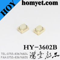 High Quality Tact Switch with 3.2*4.2*2.5mm Round Handle (HY-3602B)
