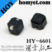 6*6*5mm 2pin SMD Waterproof Switch for Machine (HY-6601)