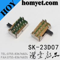 Switch/8pin DIP Slide Switch/Toggle Switch (SK-23D07)