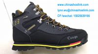 Outdoor shoes men boots leather shoes manufacturer