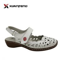 Lady shoes action leather sandals