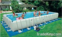 2014 new design and hot sale above ground/PVC/inflatable swimming p