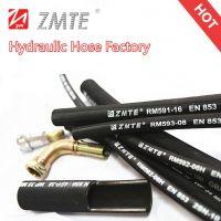 Four Steel Wires Spiraled Hydraulic Hose EN856 4SH