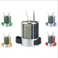 Plastic Pen Holder With
