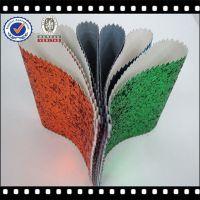 Zhejiang New Style PU Glitter Mesh Leather