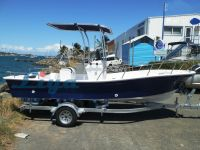 Liya 5.8m/19ft fiberglass fishing boat panga