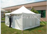 high quality PVC relief tent for emergency or disaster 4x4m