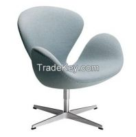 Arne Jacobsen Swan Chair in cashmere fabric/YXL-TE