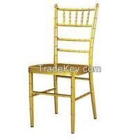 Mental Chiavari Chair, Yellow , 2years warranty/YXZJ-ZH