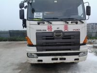 used 38 meter Putzmeiter concrete pump truck; 2008year;
