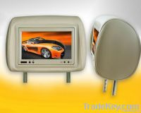 7''  TFT LED AV Headrest