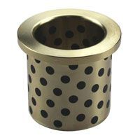 Flange oilless bronze bushing,#500 sp oiles bronze flanged bush