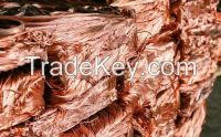 Scrap Copper Wire / 99.99% purity scrap copper wire