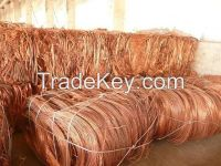 Scrap Copper Wire / 99.99% purity scrap copper wire