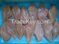 Halal Frozen Chicken Breast , Skinless Boneless Chicken Breast Fillet