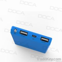 DOCA D601 Large OLED Screen 8000mAh Ultrathin Power Bank