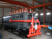 vacuum cooling, air cooling China EPS block moulding machine