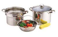 4pcs Stainless Steel Pasta Pot set