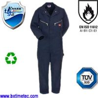 Duralbe Long Sleeve Multi-Poackets Flame Retardant Coverall