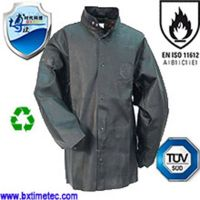 Long-sleeved Cow Split Leather Welding Pure Leather Jacket