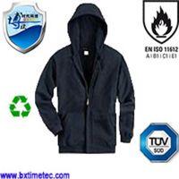 Flame Resistant Polar Fleece Jacket with Hood