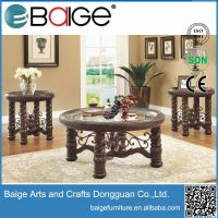 Good quality antique wooden coffee table