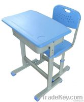 adjustable school desk and chair with different design