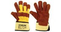 Durable Working Leather Gloves