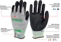 STL-1020 Bamboo Foam Nitrile Gloves