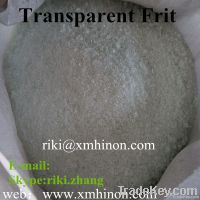 transparent frit , glass frits, clear frits